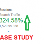 Case study: 324% surge in search traffic with On Page SEO